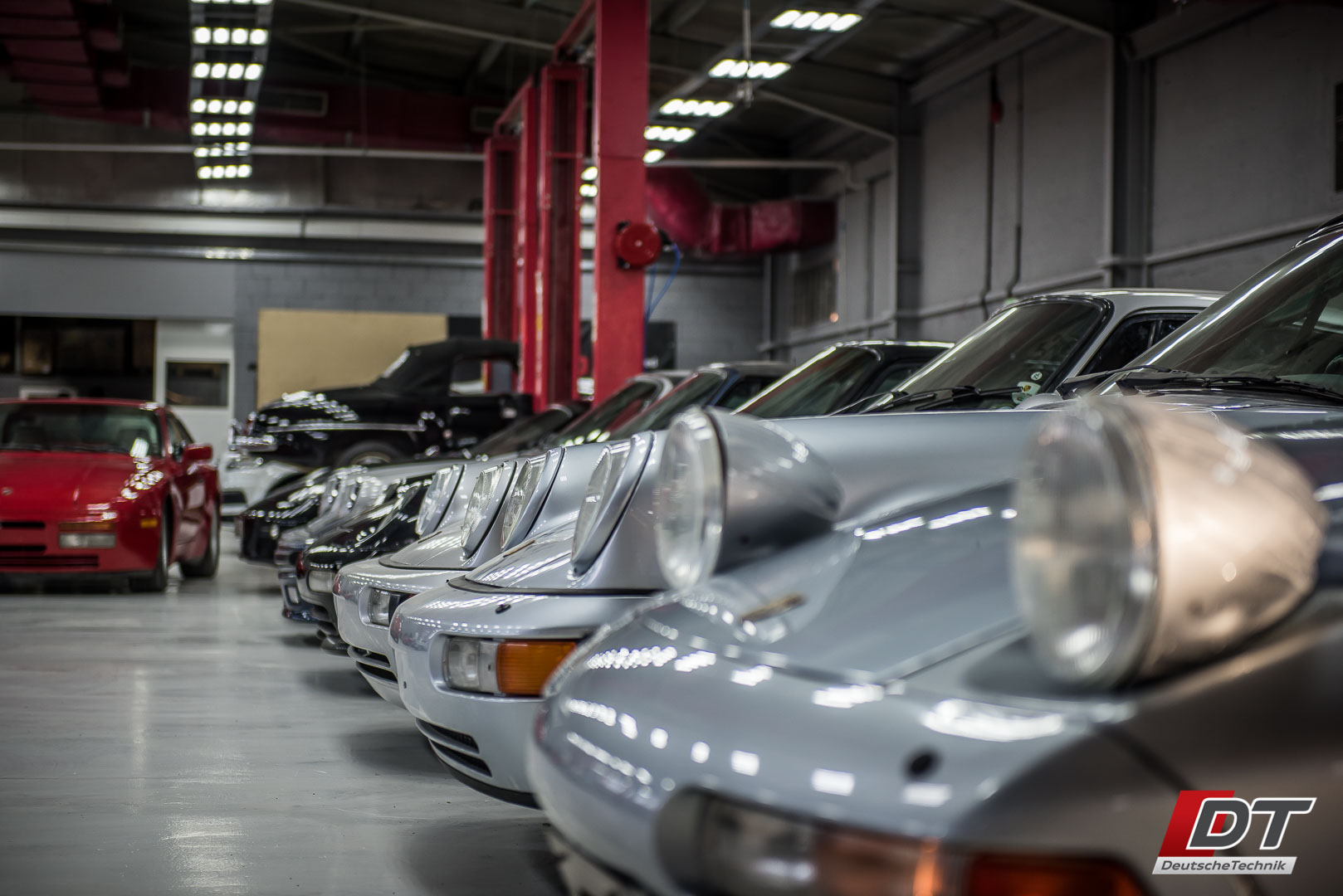 Classic Car Restoration At Dt Service Centre In Al Quoz